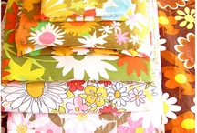 Vintage Fabrics  / I will never stop collecting it, washing it, folding it, admiring it and sometimes sewing with it! / by Karen Harlan