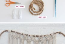 Craft - yarn - weave - macrame