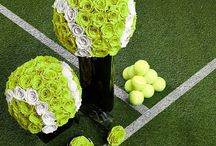 Tennis themed tables