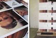 Druckprodukte aus unserem Haus / Interessante Produkte, die in unserer Druckerei produziert wurden.
