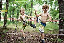 Summer neighbourhood obstacle games DIY