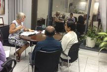 University of Melbourne Representative visit... / On Sunday, the 19th Oct 2014, Ms. Pauline Nunan, Regional Manager for the Middle East from the University of Melbourne met with aspiring students and their families at our office in Dubai.