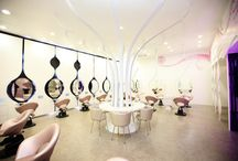Beautiful Hair Salons / Where the magic is done....