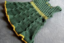 kids clothes to knit and crochet
