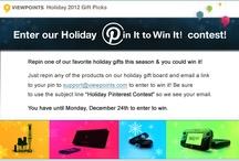Holiday Pinterest Contest