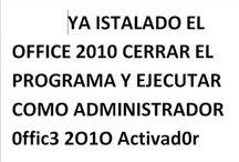OFFICE 2010 DESCARGA Y ACTIVADOR