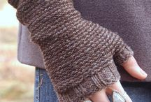 Knitted Mittens - Gloves