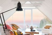 Pitched roof interiors