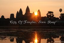 Cambodia: The Kingdom of Wonder / It's a heavenly ancient city for history buff. Siem Reap in Cambodia is the gateway to the Khmer kingdom where ancient cities of Bayon, Angkor Thom, Angkow Wat, Preah Khan once existed. Click on any of the pins to read the full posts.