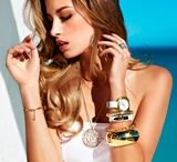 Glam With Gold   / Exquisite And Luxurious Jewellery by American Swiss That Every Woman Needs