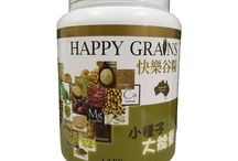 Happy Grains / A product originated for Australia with the world's leading Cell-Wall Breaking Technique to saved the maximum integration among various elements for 3-4 times better absorption as compared to other similar products and give you the most variety of whole grains. It provides 3-4 times more nutrition and anti-illness elements as compared to normal food. It is the best choice for those who care about their family and loves one.