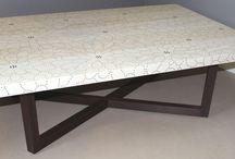 Peter Sandback handmade tables