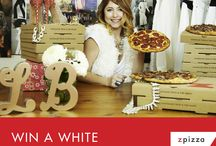 White Hot Contest with LaurieBStyle! / For contest rules, visit www.zpizza.com/whitehotcontest!