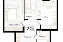 Планировки / Планировка Вашей квартиры  – это  наша забота о Вашем комфорте! А какая планировка станет Вашим семейным гнездышком?