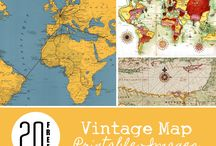 Vintage maps / What when we only think we know all the world?