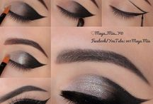 Dolled Up Eyes / The Eyes have it! Eye shadow, liner, brows, & anything else that beautify the windows to the soul.