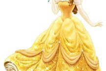 Vestidos y accesorios de Bellas Princesas y Hadas