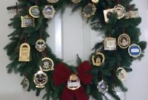 Christmas Wreaths / A collection of White House Christmas ornaments we have collected during our Christmas visits to Washington DC / by Pat Johnson