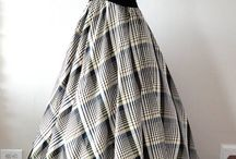 Широкая юбка платье