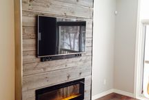 Feature Wall Ideas Fireplace