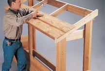 Hout opslag Wood shed / Wood cage Wood storage