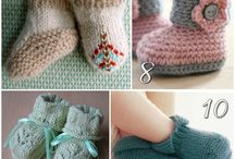 Bootees / Knit and crochet
