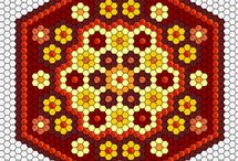 Hexagon-patchwork