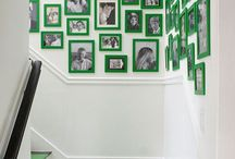 Staircase / Ascend and descend in style with a gorgeous staircase! How to style a staircase, design, decor, and construction ideas.