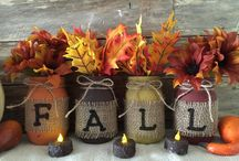 Fall mason jar ideas