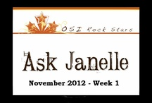 Ask Janelle November 2012 / Each week the Rock Stars get to ask their questions Live during this coaching call.