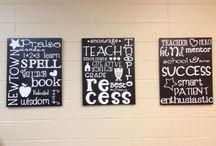 Teacher Lounge Makeover / by Jessica Hawkins