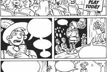 cómics en blanco - crear diálogos