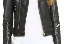 HOW TO WEAR LEATHER JACKETS / #leatherjacket