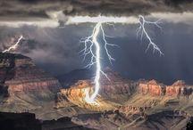 Clouds, Lightning & Violent Nature