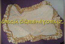 BLANKET - BATTANİYE / Blanket crochet and knitting