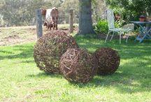 Barb wire crafts