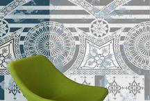 Officina italia decori / Gres laminato sottile ispirato al rinascimento italiano