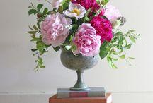 Flowers for Nanas memorial