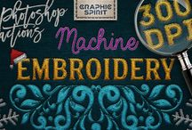 Machine embroidery toolkit