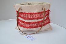 Woven bags made by Sigo (Simona Gonciulea)