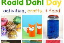 Roal Dahl Activities