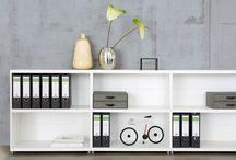 Büroregale & Büroeinrichtung / Praktische Büroeinrichtung: Büroregale für mehr Ordnung - Regalsysteme für Ihr Office