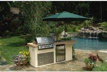 Backyard BBQ/entertaining area