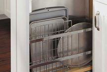 Storage for baking tins and trays love this one