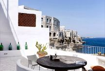 Terraces & Balconies / A look over our beautiful properties' terraces and balconies. The best of www.helloapulia.com