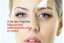 Mascarillas para la piel y el cabello / Recetas caseras con productos naturales para hacer mascarillas efectivas para la piel y el cabello.