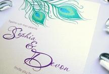 Wedding invite ideas / by Twylen Hadley