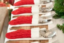 Christmas table setting inspiration