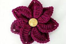crouchet flowers