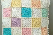 Travesseiro de crochê
